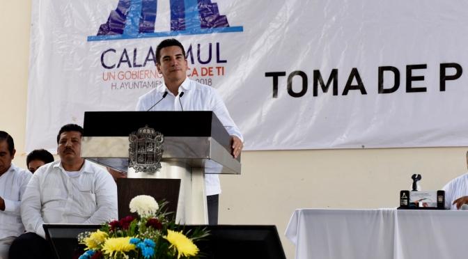 Reitera el gobernador Alejandro Moreno Cárdenas compromiso de fortalecer al sector productivo