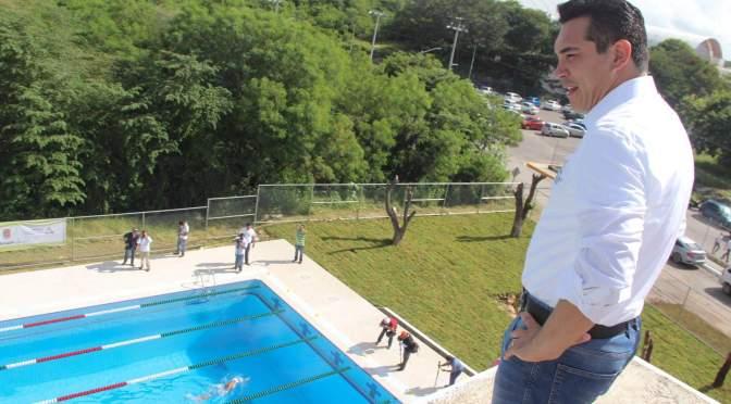 Inaugura gobernador de Campeche infraestructura en el Centro de Alto Rendimiento