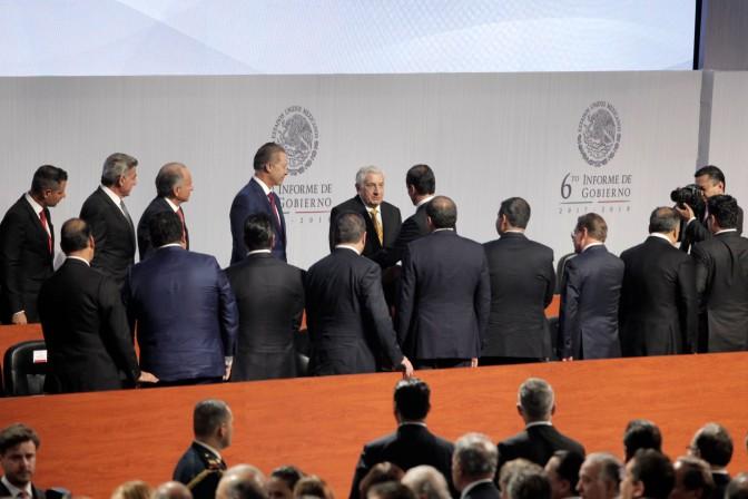 Asiste Núñez al VI Informe del Presidente Peña Nieto