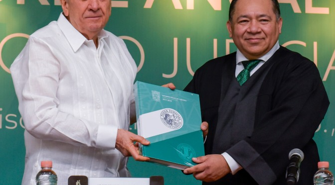 Convoca Aysa González al Poder Judicial a consolidar los pilares de la legalidad y la justicia