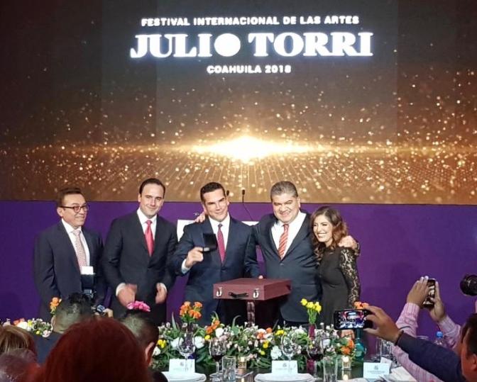 Encabeza el Gobernador Alejandro Moreno  participación de   Campeche como Estado Invitado al Festival Internacional de las Artes en Saltillo