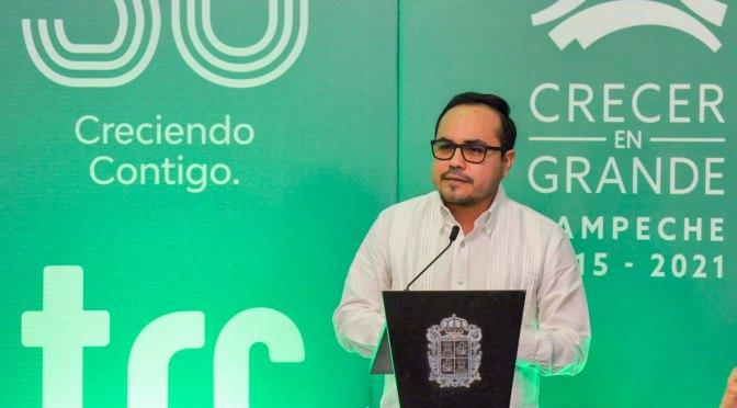 Encabeza Walter Olivera celebración por 30 aniversario del Sistema de Televisión y Radio de Campeche