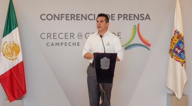 Revela el gobernador de Campeche que para infraestructura se proyecta invertir 19 mdp del PEF 2019