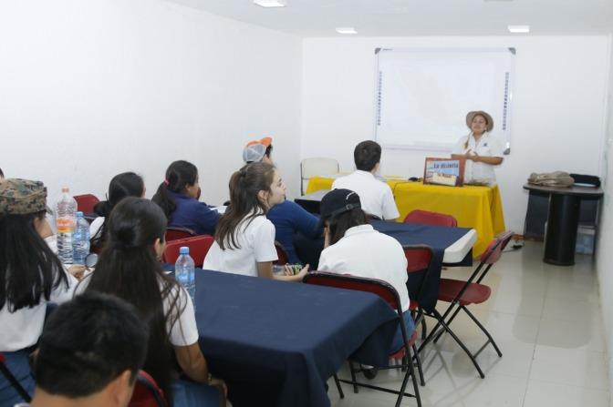 Casa de la Tierra opción de aprendizaje y conciencia ambiental en Centro
