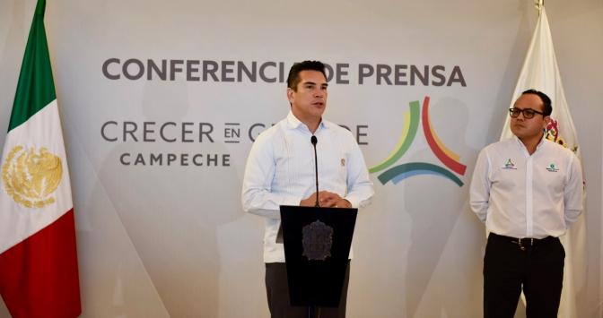 Confirma el gobernador de Campeche que el Presidente Electo Evaluará en Carmen avance del Tren Maya