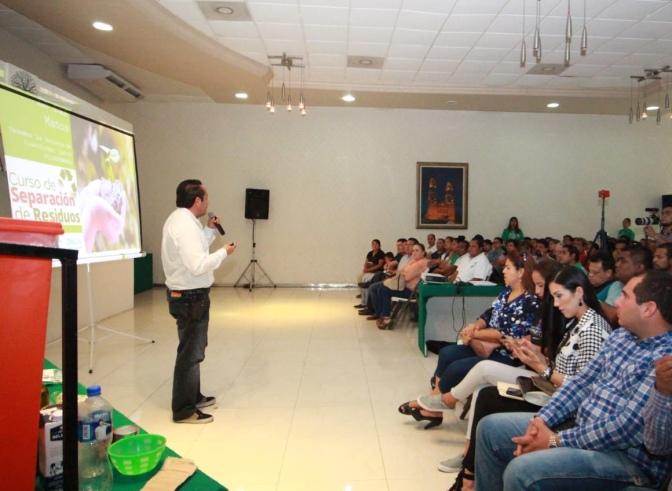 Centro es el primer Ayuntamiento con verdadera conciencia ambiental