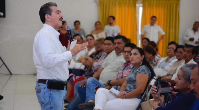 Delegados municipales sostienen primera reunión con el edil Evaristo Hernández