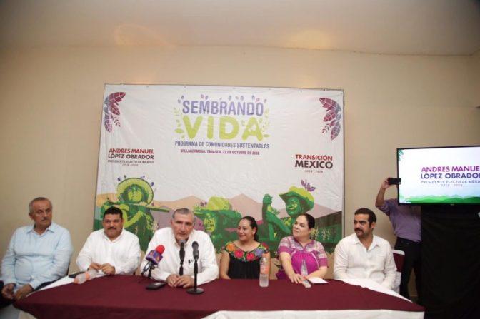 "Presentan Programa ""Sembrando Vida"" en Tabasco"