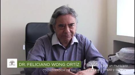 Dr. Feliciano Wong Ortíz.