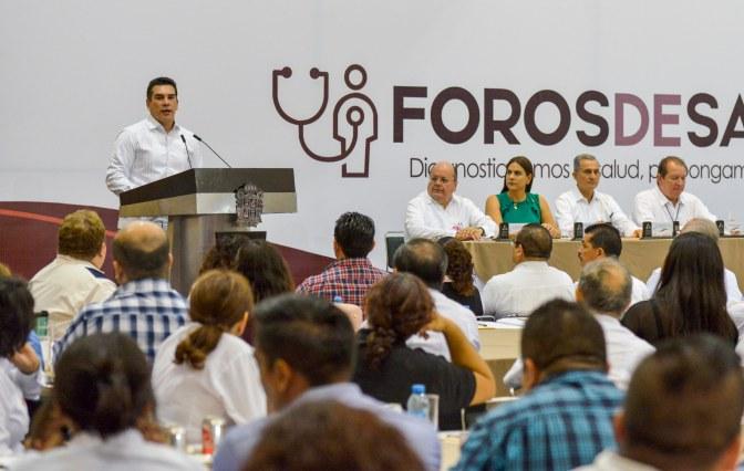 Pide gobernador Alejandro Moreno Cárdenas escuchar a la sociedad para dar mejores resultados