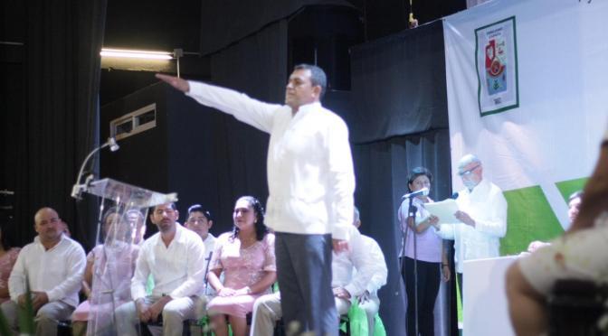 Juntos afrontaremos los retos en esta nueva etapa: Carlos Pascual Pérez Jasso