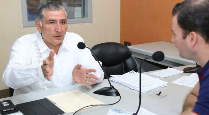Garantiza Adán Augusto transparencia  en aplicación de recursos en su gobierno