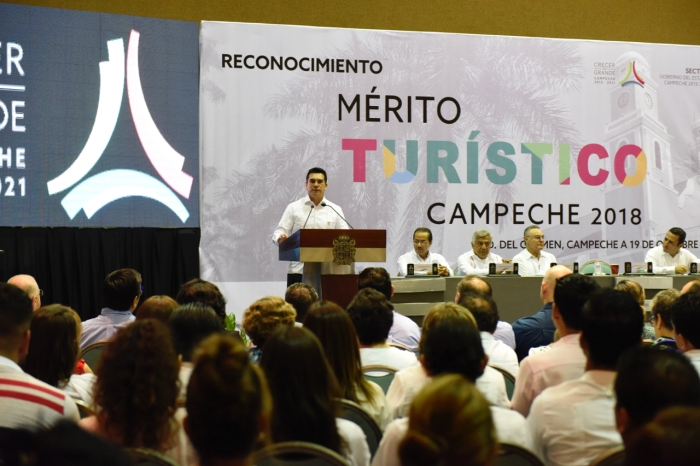 Mérito Turístico Campeche 2018 - 20