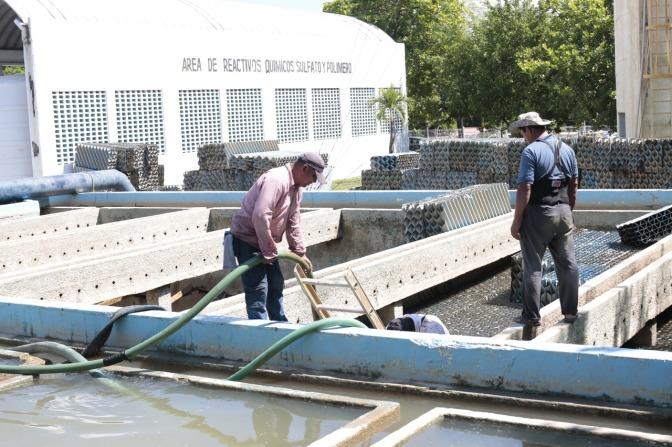 """Revisan avances en limpieza y mantenimiento de la Planta """"Villahermosa"""""""