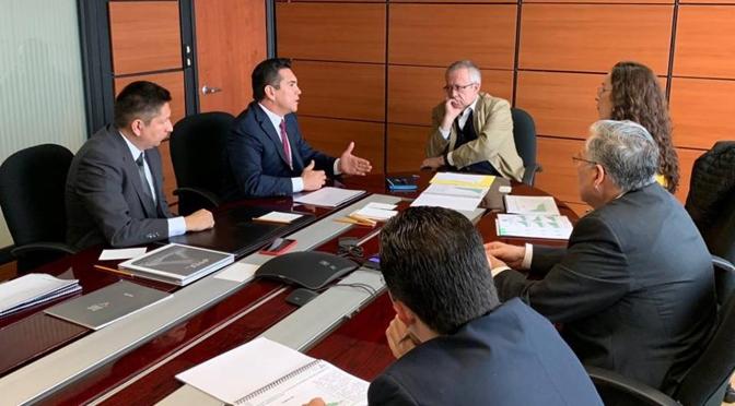 Se reúne el gobernador Alejandro Moreno Cárdenas con el próximo Secretario de Hacienda para gestionar apoyos a favor de las familias campechanas