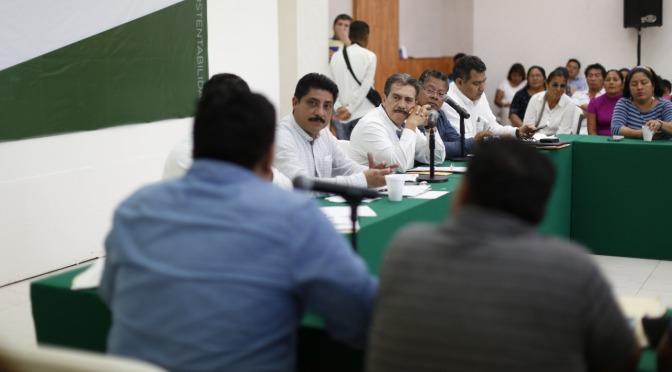 Preside Evaristo Hernández 6º Diálogo con Ciudadanos, Líderes y Delegados