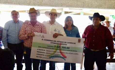 Entrega de Apoyos Ganaderos en Palizada - 18