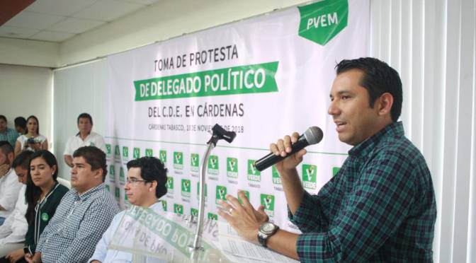 No asiste Partido Verde a Informe de Gobierno de Tabasco