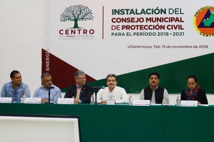Instalación Consejo Municipal de Protección Civil (1)