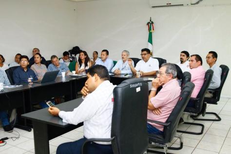 Reunión de trabajo con la CONACYT 201118 (1)