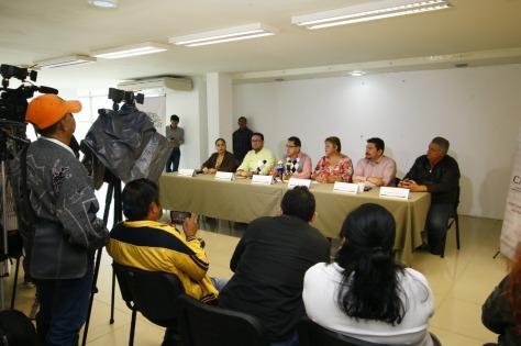 Rueda de Prensa. Regresa el Paseo Dominical. 151118 (2)