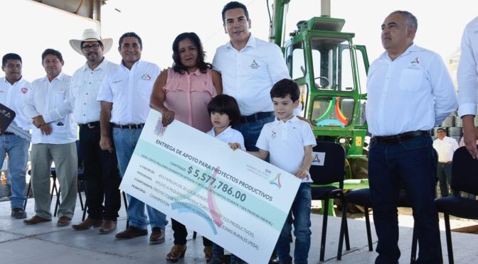 Reafirma gobernador Alejandro Moreno Cárdenas demanda que PEF 2019 no disminuya ni desaparezcan apoyos al campo