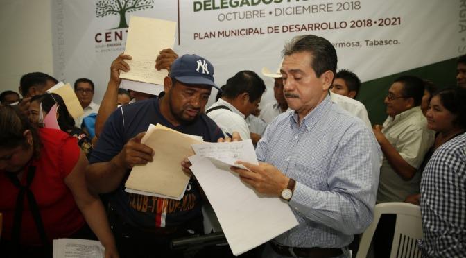 Celebra Evaristo Hernández unidad chontal de Tamulté de las Sabanas