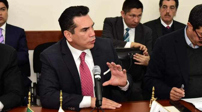Encabeza el gobernador Alejandro Moreno demanda de reasignación de recursos del Presupuesto de Egresos de la Federación 2019 a Estados