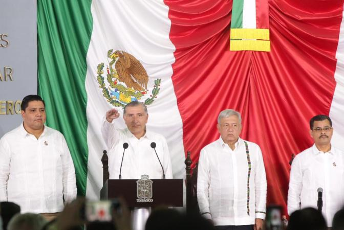 Mi entrega total para gobernar Tabasco: Adán Augusto López Hernández