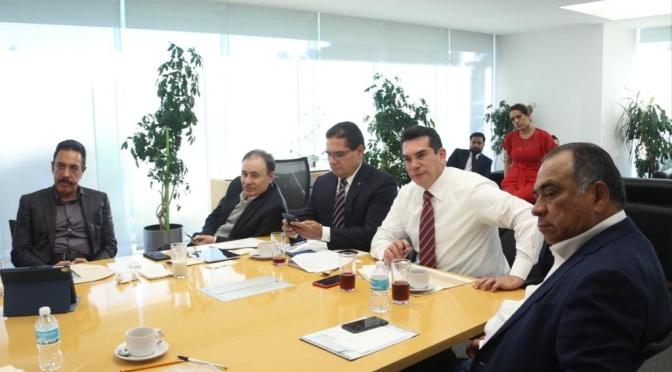 Encabezan el Presidente de Conago, Alejandro Moreno Cárdenas, y el titular de Seguridad, Alfonso Durazo, trabajos para proteger a mexicanos