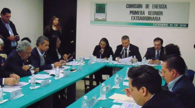 Crece en 12.6% presupuesto para sector energía: Manuel Rodríguez