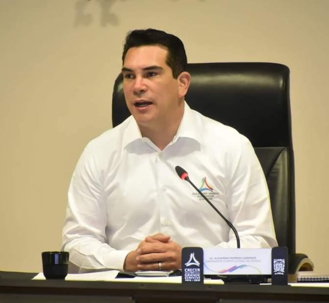 Campeche se mantiene como la entidad más segura del país, confirma el gobernador Alejandro Moreno Cárdenas