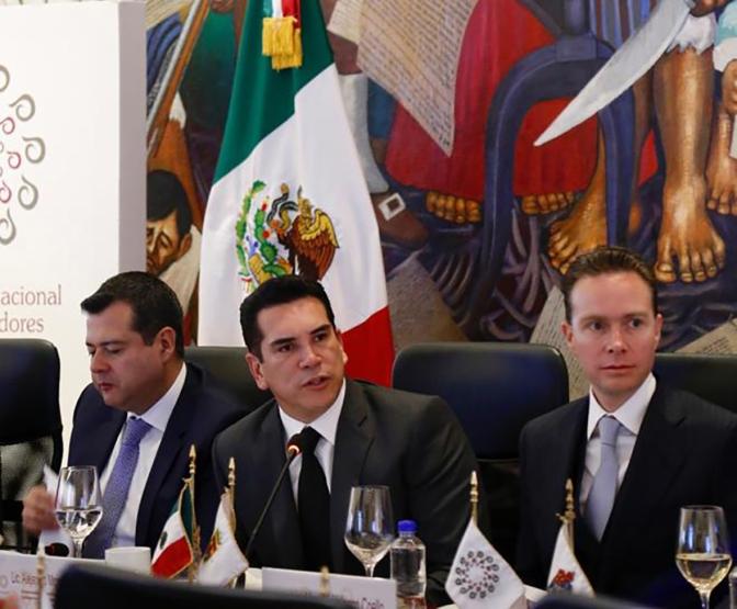 Asume el gobernador de Campeche, Alejandro Moreno Cárdenas, presidencia de la Conago