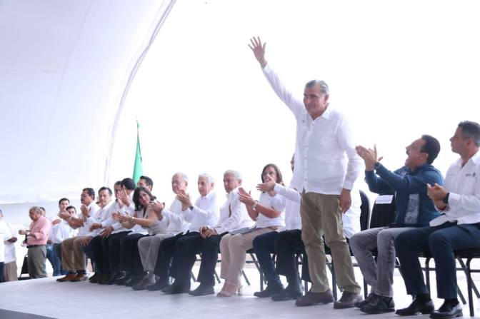 Respalda Adán Augusto Plan Nacional de Refinación
