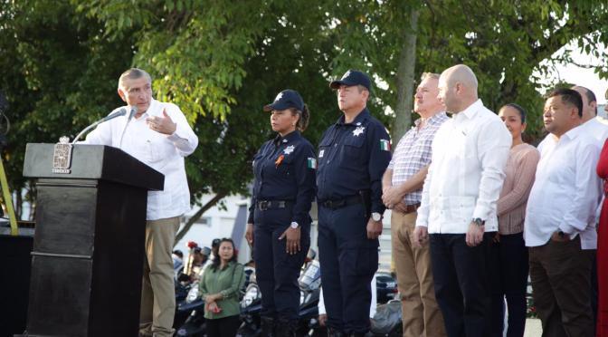 Asume Adán Augusto compromisos para mejorar la seguridad pública