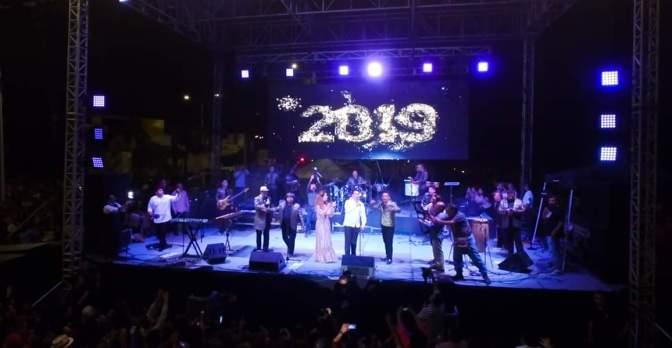 Campechanos reciben con música y alegría el 2019