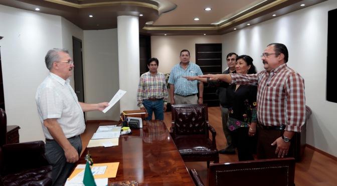 Se integran nuevos funcionarios para eficientar procuración de justicia