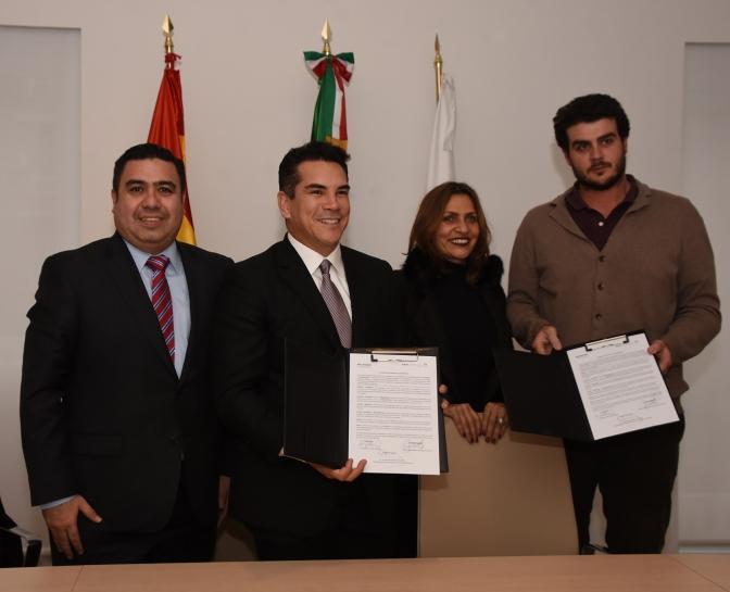 El gobernador de Campeche concreta en España inversiones en sector Turístico, Portuario y Desarrollo Productivo
