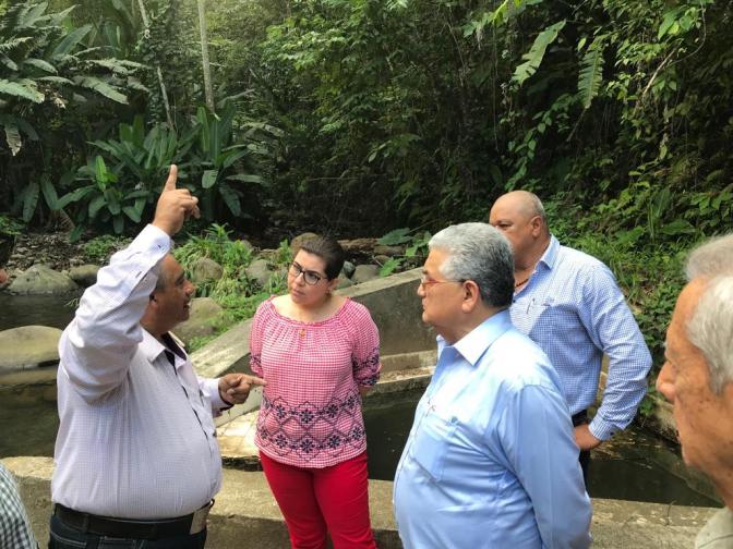 Supervisa CEAS infraestructura de agua potable y drenaje en Teapa