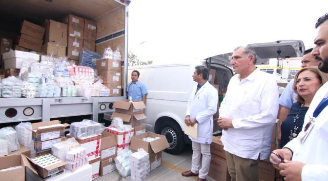 Asegura el Ejecutivo que mejorará el sector salud de Tabasco