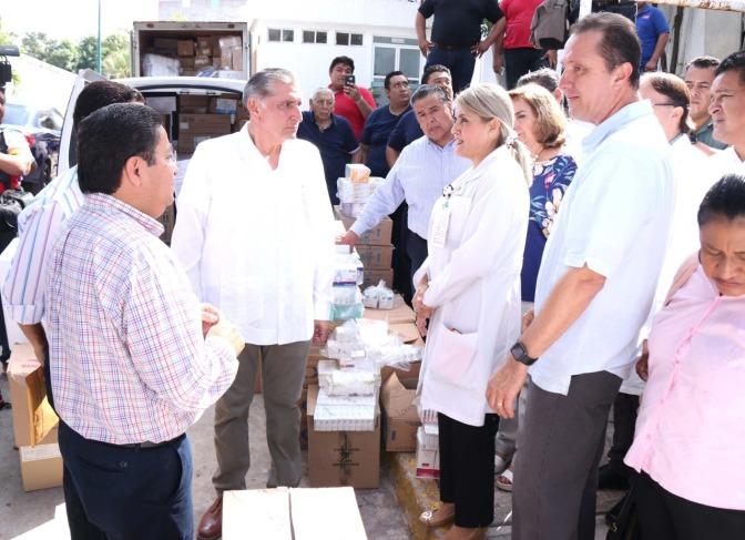 Será Tabasco el estado emblemático del nuevo sistema de salud: Adán Augusto