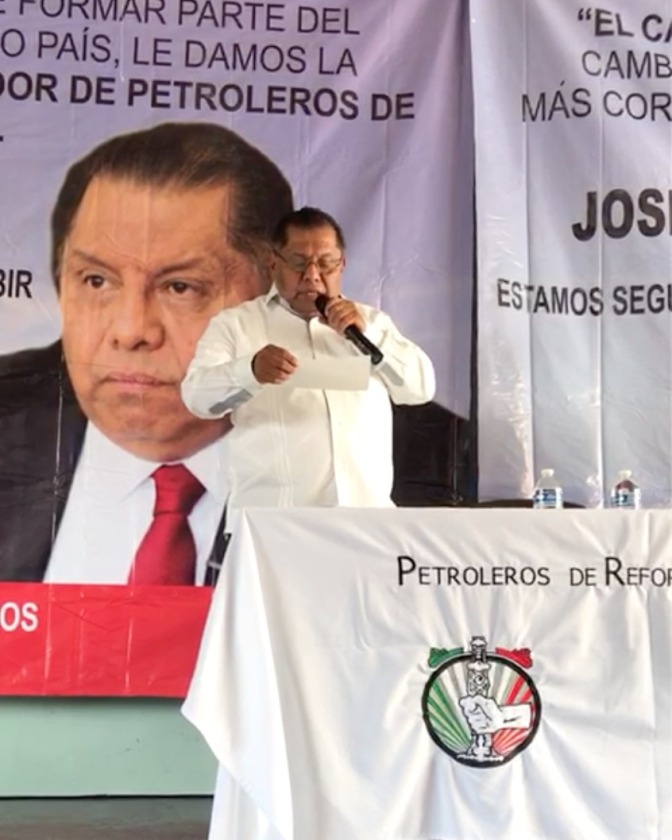Solicitan empresarios destitución de Romero Deschamps y asignación de José Rubén Rosaldo Cordero como Secretario General del STPRM