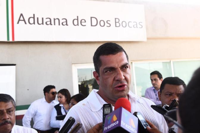 Crearán Recinto Fiscalizado en Aduana   de Dos Bocas, en Paraíso, Tabasco