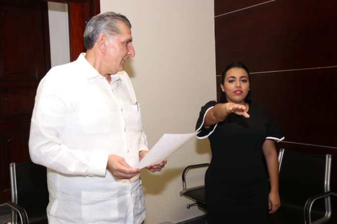 Sheila Cadena Nieto, nueva directora del  INJUDET