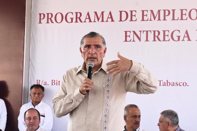 Inicia Adán Augusto rescate social de los Bitzales, en Macuspana