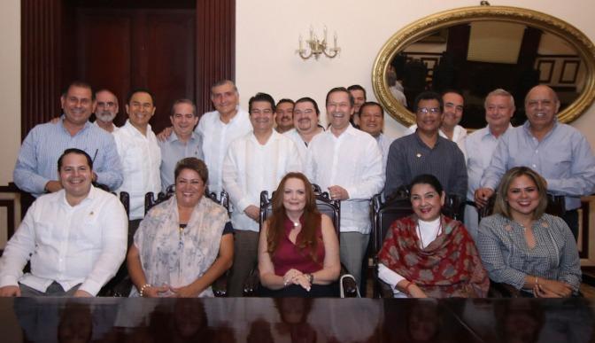 Nueva relación de respeto y trabajo con empresarios: Adán Augusto