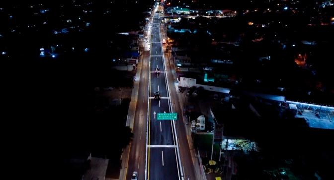 """Cumple gobernador Alejandro Moreno Cárdenas a Campechanos: inaugura Segundo Piso Vial """"Gobernadores"""", el primero en todo el Sureste"""