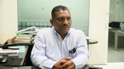 paulino vidal sosa, subdirector de ingresos. 090119.