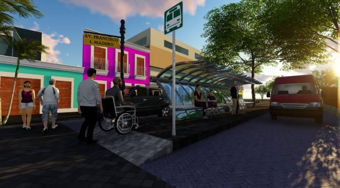 Ofrecen detalles del anteproyecto de remodelación de calle Madero, en Centro