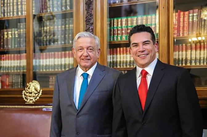 Gestiona gobernador Alejandro Moreno Cárdenas obras ante el Presidente para beneficio de familias campechanas
